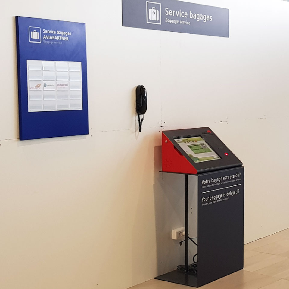 Self-service Technology for French Airports