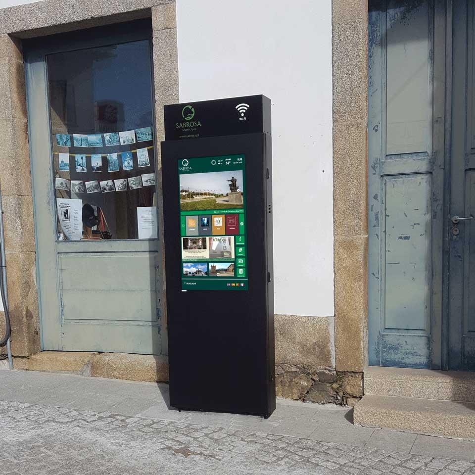 Municipality of Sabrosa Install Digital Billboards