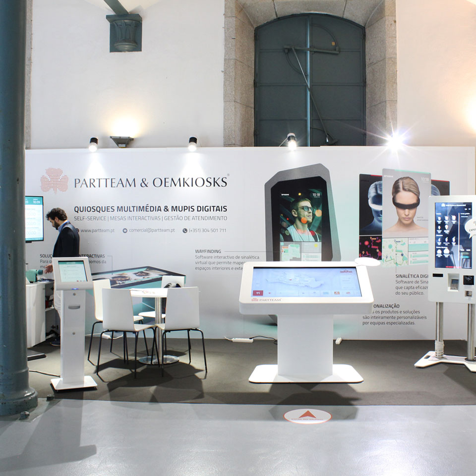PARTTEAM & OEMKIOSKS Present at Iberia Retail Show