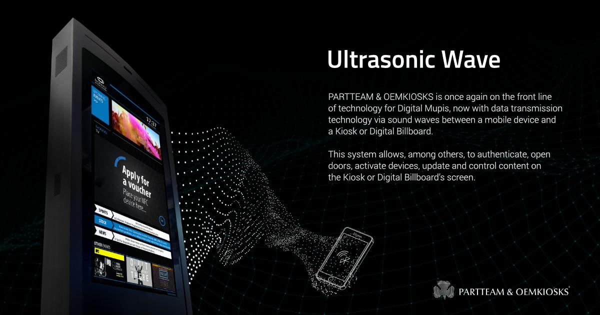 PARTTEAM & OEMKIOSKS - Ultrasonic Wave system