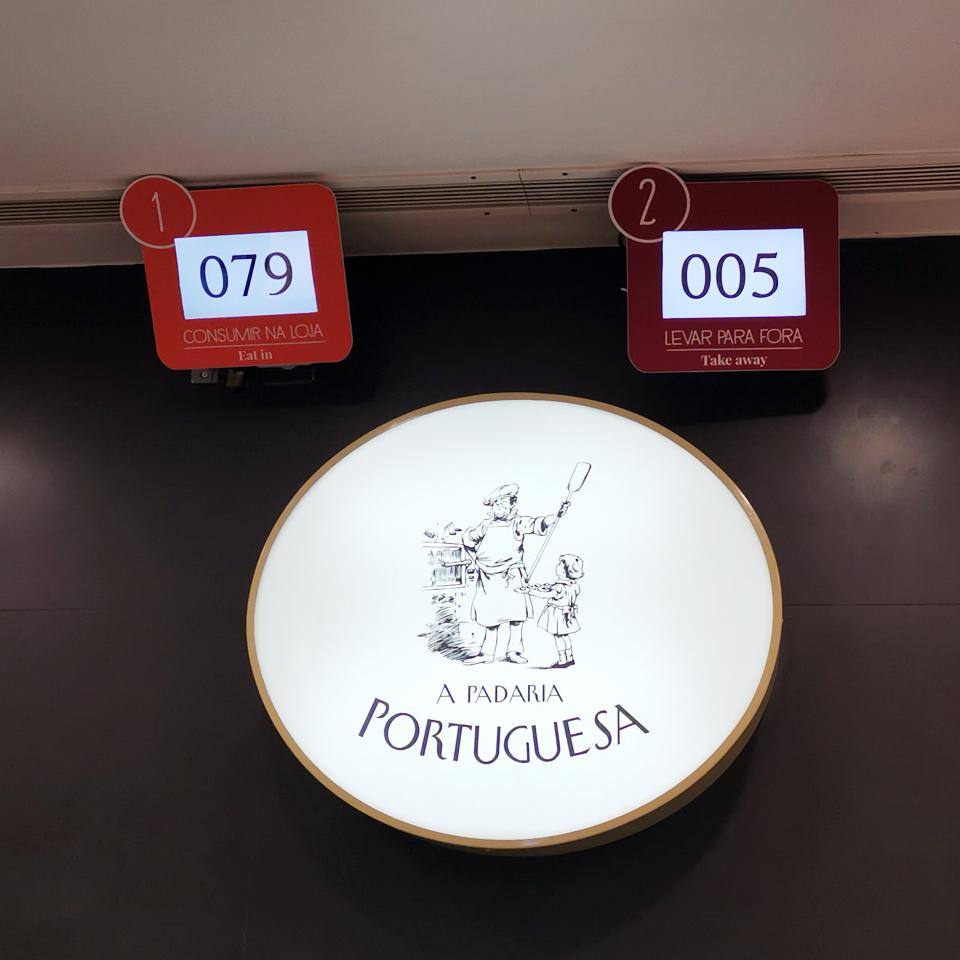 QTICKET TOUCH for A Padaria Portuguesa
