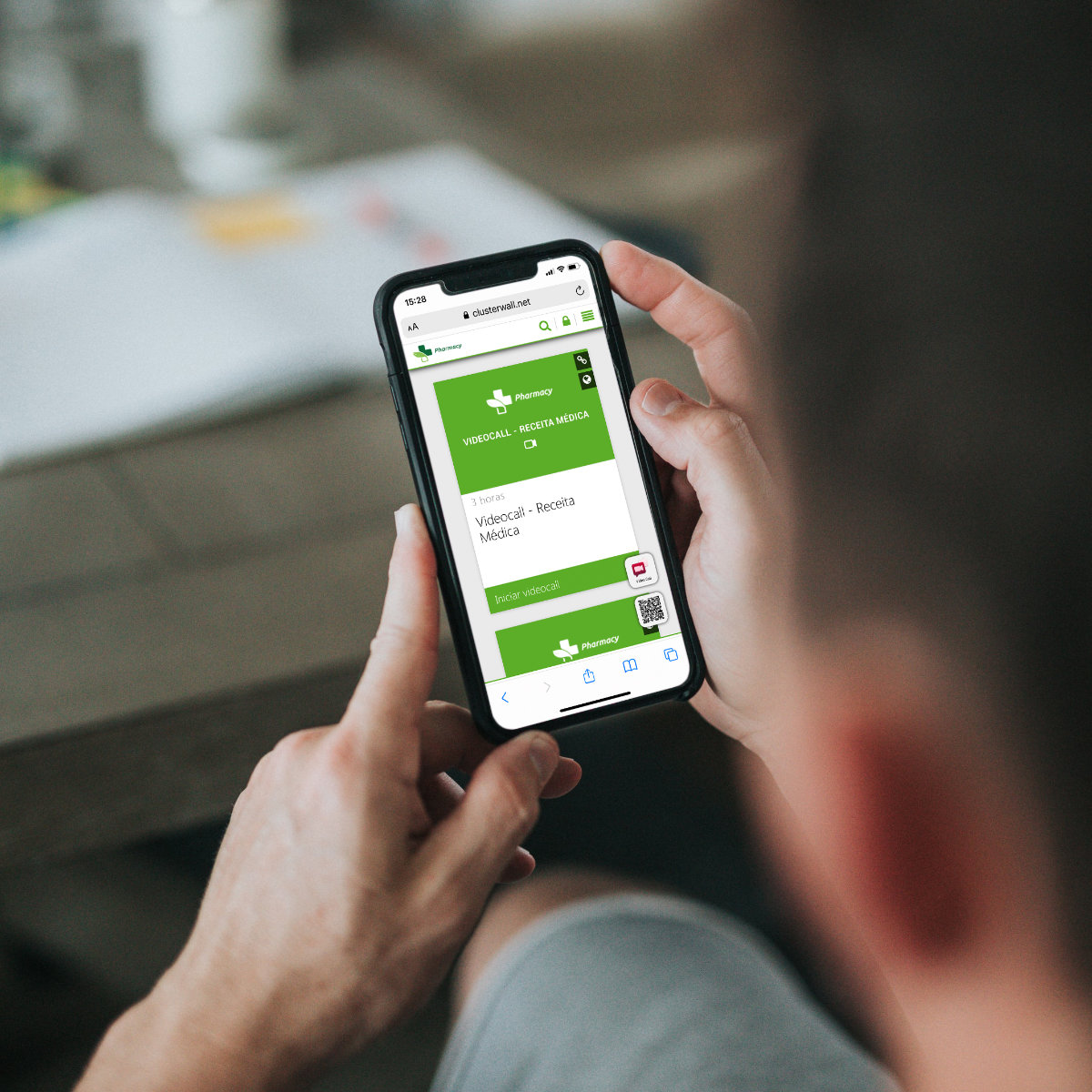 Connect pharmacies and patients through video calls with ClusterWall