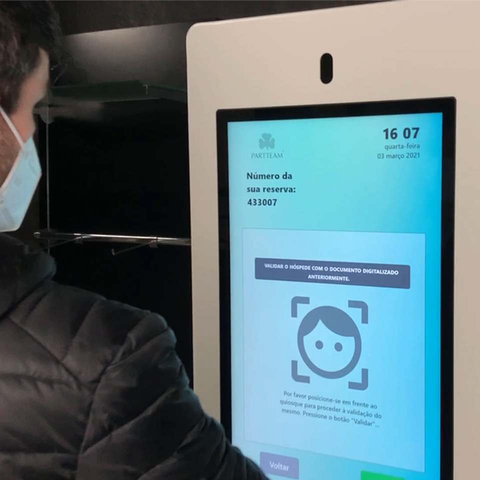 PARTTEAM & OEMKIOSKS with facial authentication systems in kiosks in partnership with YooniK
