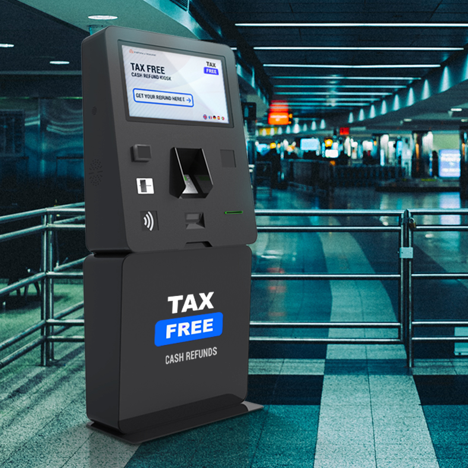Tax Free: Take back the VAT on your purchases with self-service kiosks from PARTTEAM & OEMKIOSKS