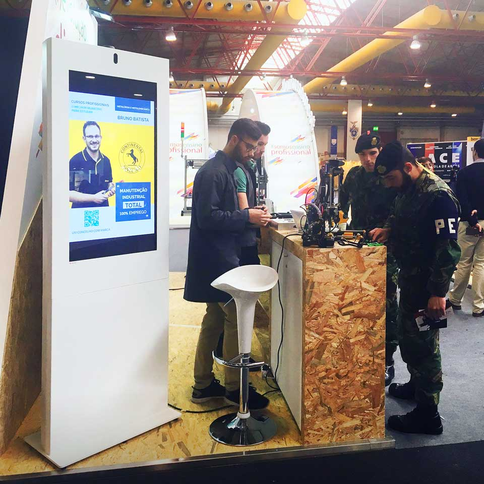 The contribution of PARTTEAM & OEMKIOSKS digital solutions in fairs, events and exhibitions