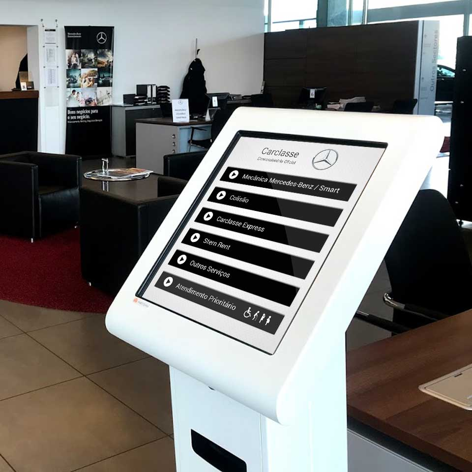 Carclasse chooses Queue Management Systems QMAGINE by PARTTEAM & OEMKIOSKS