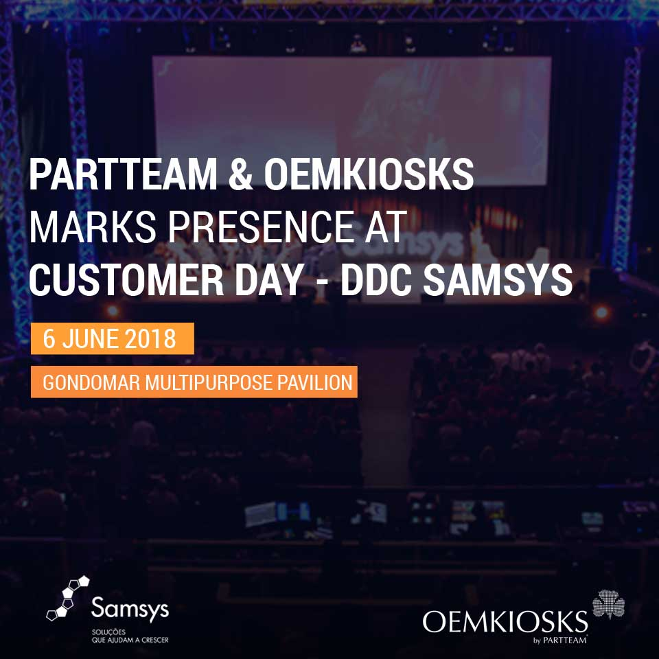PARTTEAM & OEMKIOSKS marks presence at Customer Day - DDC 2018 SAMSYS