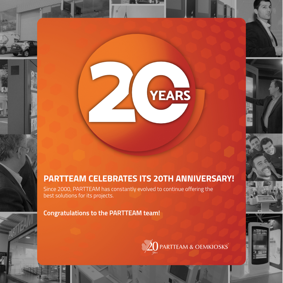 PARTTEAM & OEMKIOSKS 20 years at the technological vanguard