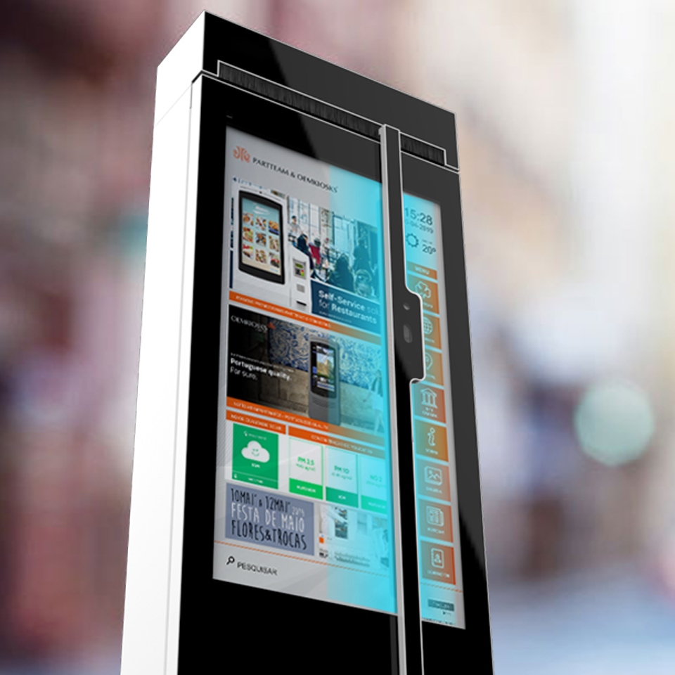 PARTTEAM & OEMKIOSKS Digital Billboards include disinfection system using UV light - img 2