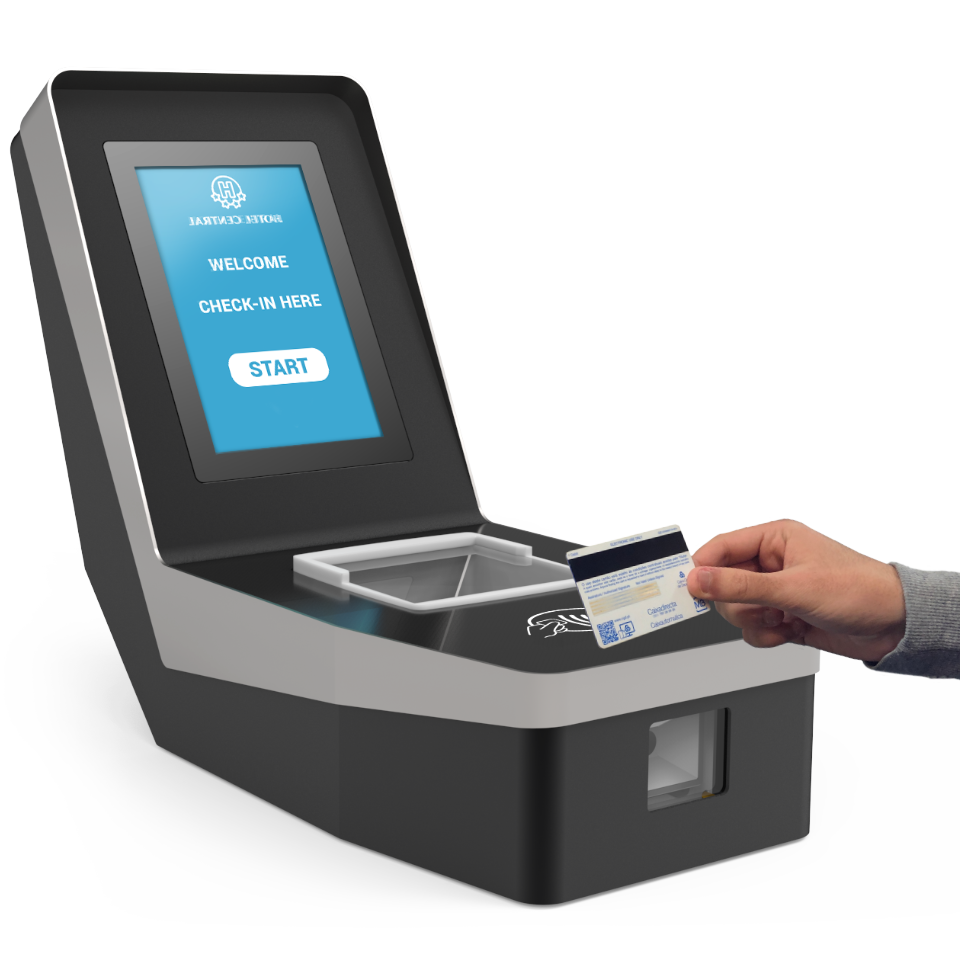 TYNTRANZ CHECK-IN: The kiosk that ensures fast and effective self-checkin in hotels