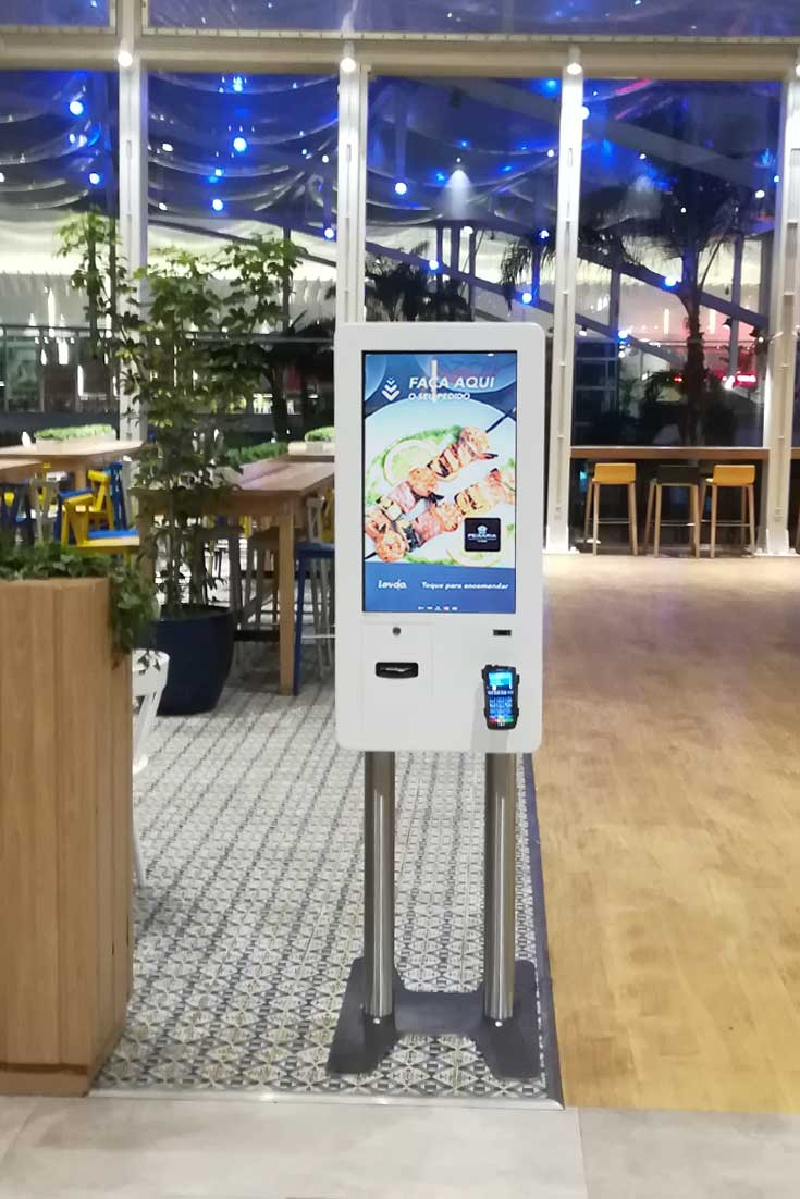 QSR: Self-Service kiosks for restaurant area Dolce Vita Tejo - Lisbon