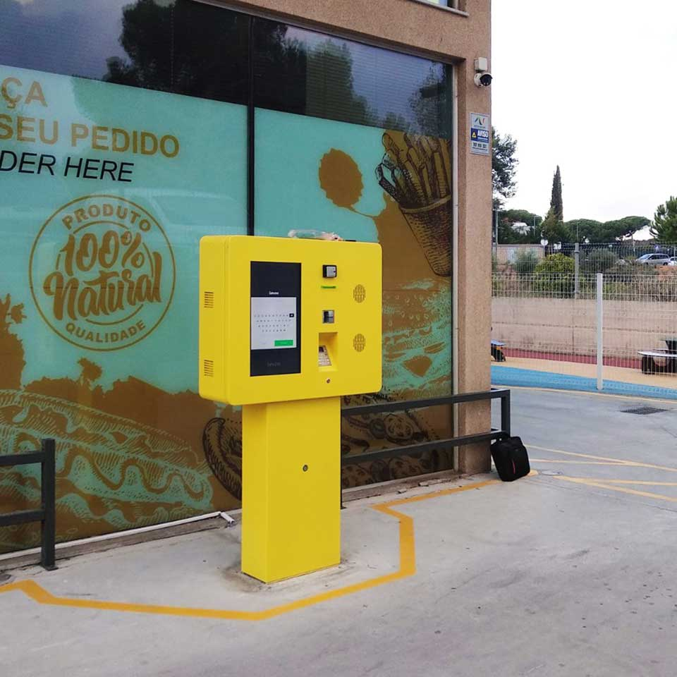 Drive-in installed on Maxi Drive 24h in Quarteira