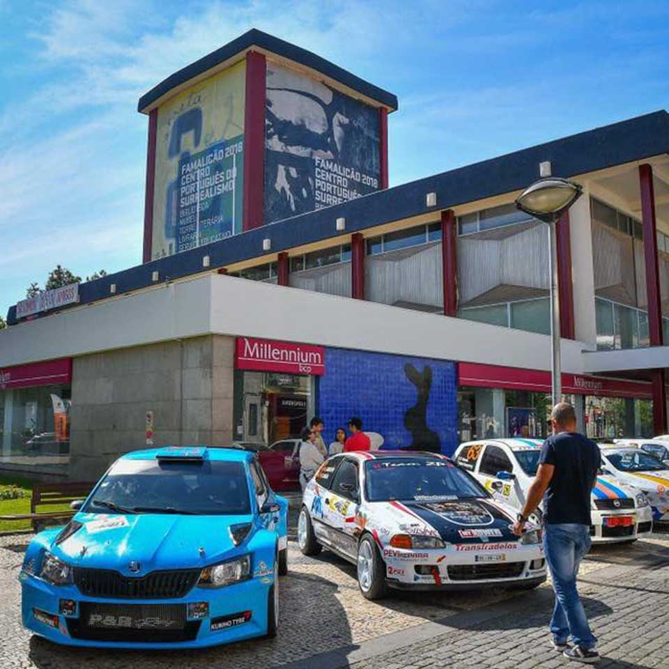 PARTTEAM & OEMKIOSKS technology provides information at the Famalicão Rally