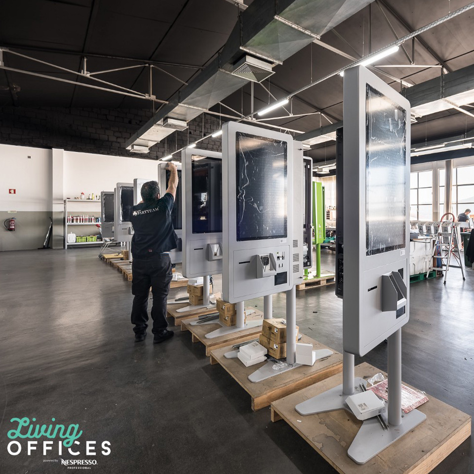 PARTTEAM & OEMKIOSKS participates in living offices