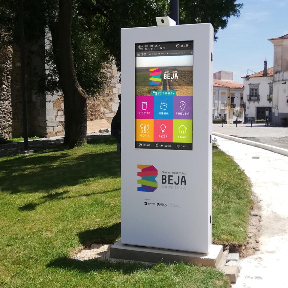 PLASMV Digital Billboards for Beja