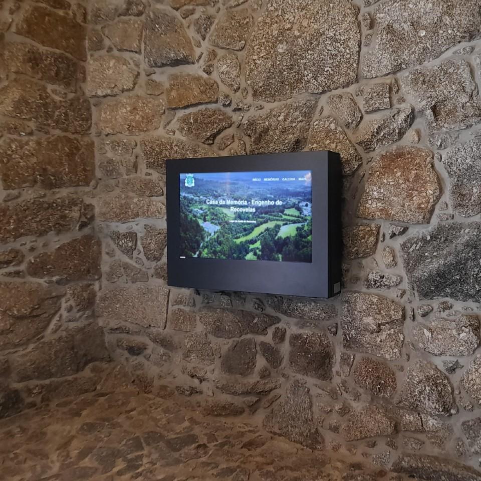 Casa da Memória in Fafe with interactive tourist information kiosk revives memories of the population of Ribeiros