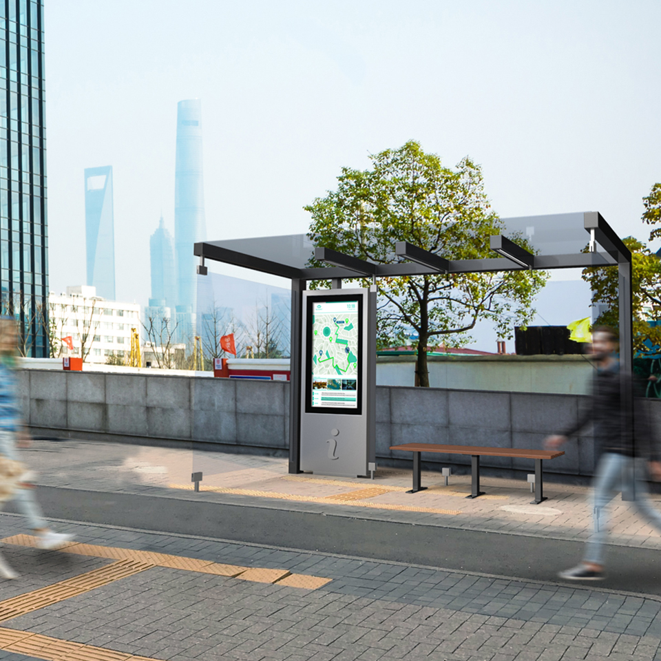Shape the future with Smart Bus Shelters from PARTTEAM & OEMKIOSKS