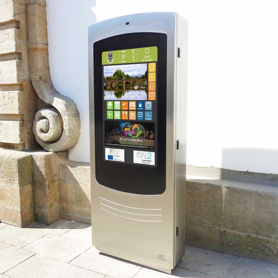 Tourism information kiosk promotes Municipality