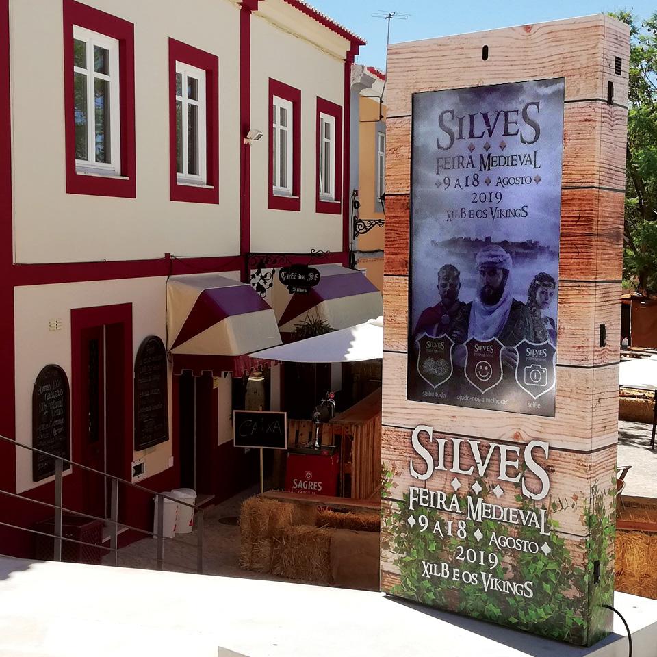 Digital Billboards present at Feira Medieval de Silves