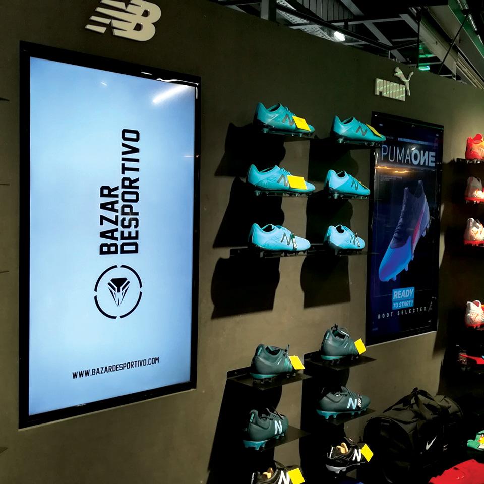 Self-Service Kiosks for Bazar Desportivo store