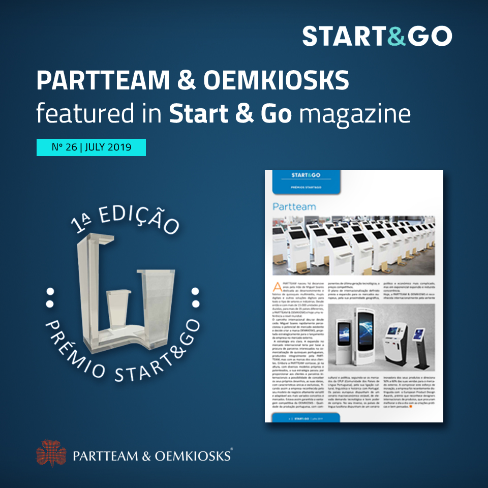 START & GO Digital magazine highlights PARTTEAM & OEMKIOSKS