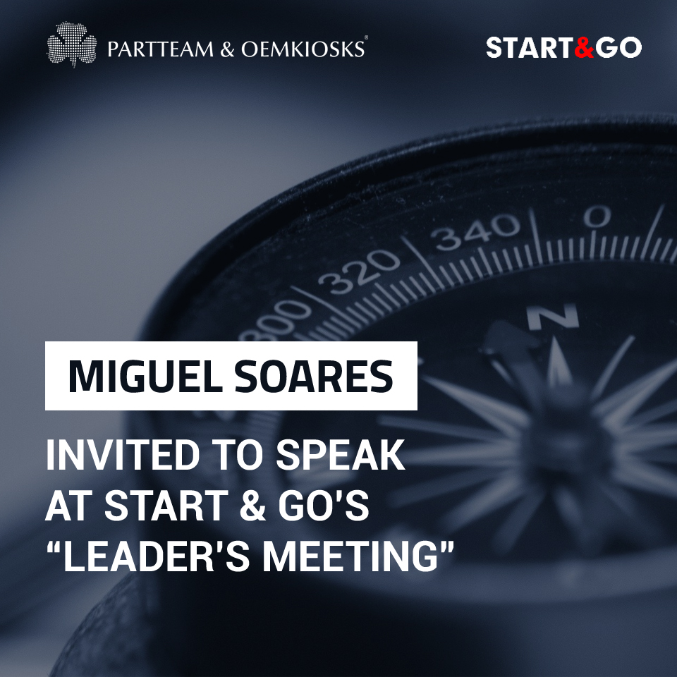 Miguel Soares invited to Start & Go Leader's Meeting