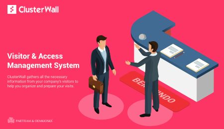 ClusterWall: Visitor and access management system