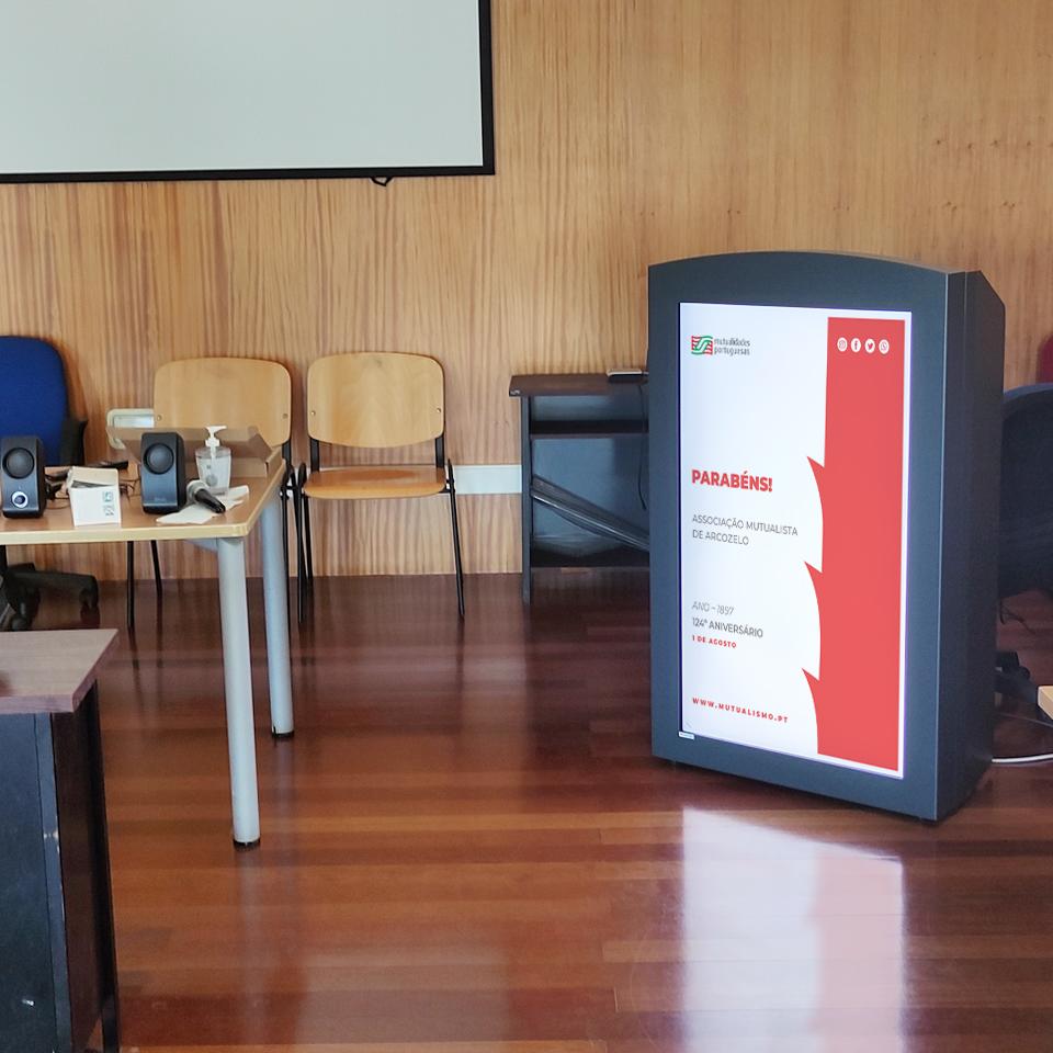União das Mutualidades Portuguesas modernizes space in Esmoriz with the installation of the Digital Pulpit