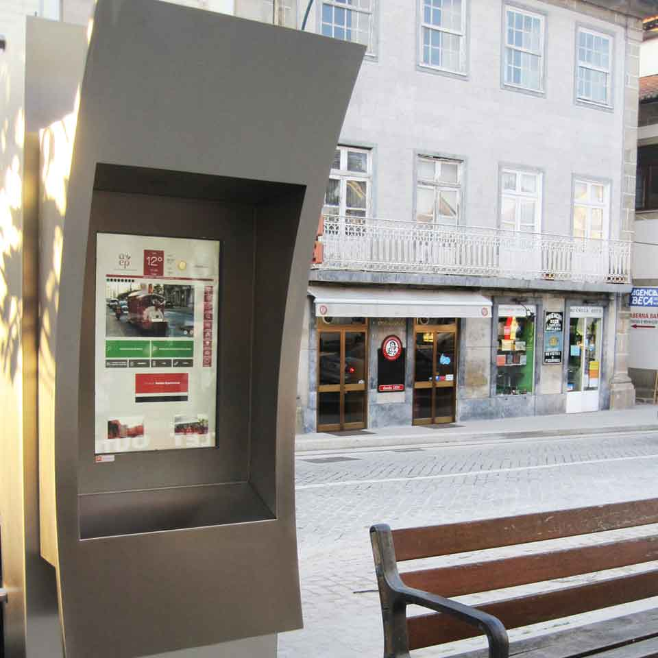 Tourism kiosk in Penafiel