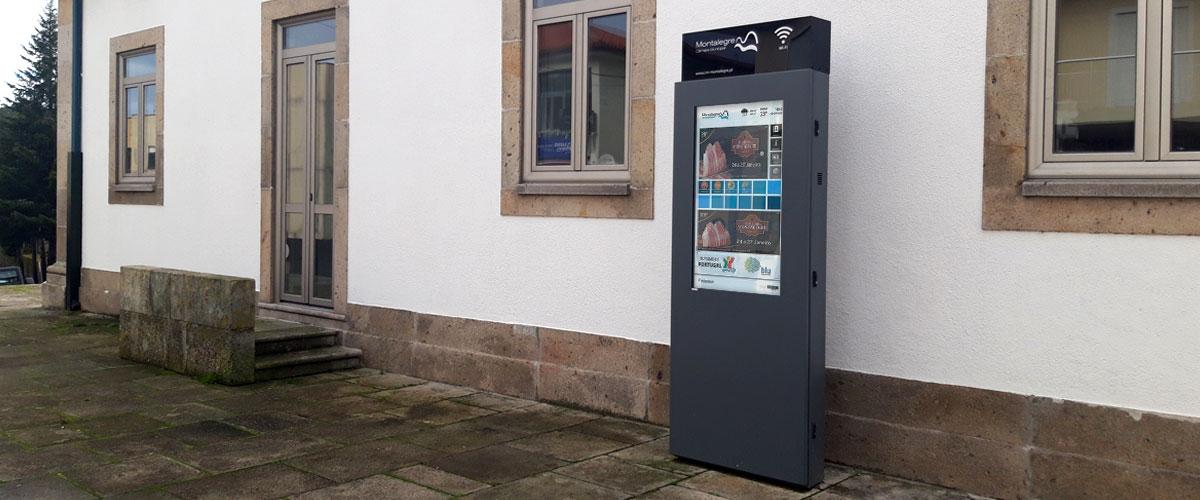 Digital Billboard DOOH for Montalegre Town Hall