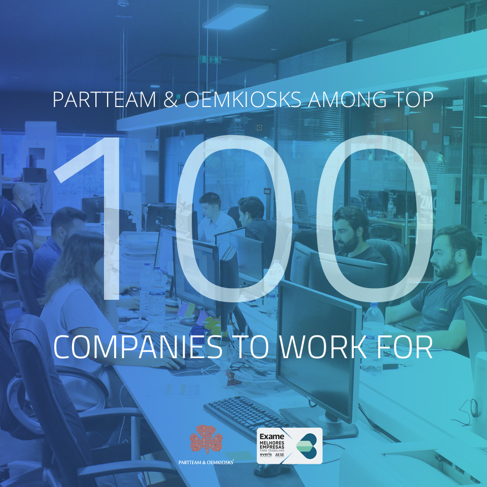 PARTTEAM & OEMKIOSKS finalist to The Best Companies to Work 2019