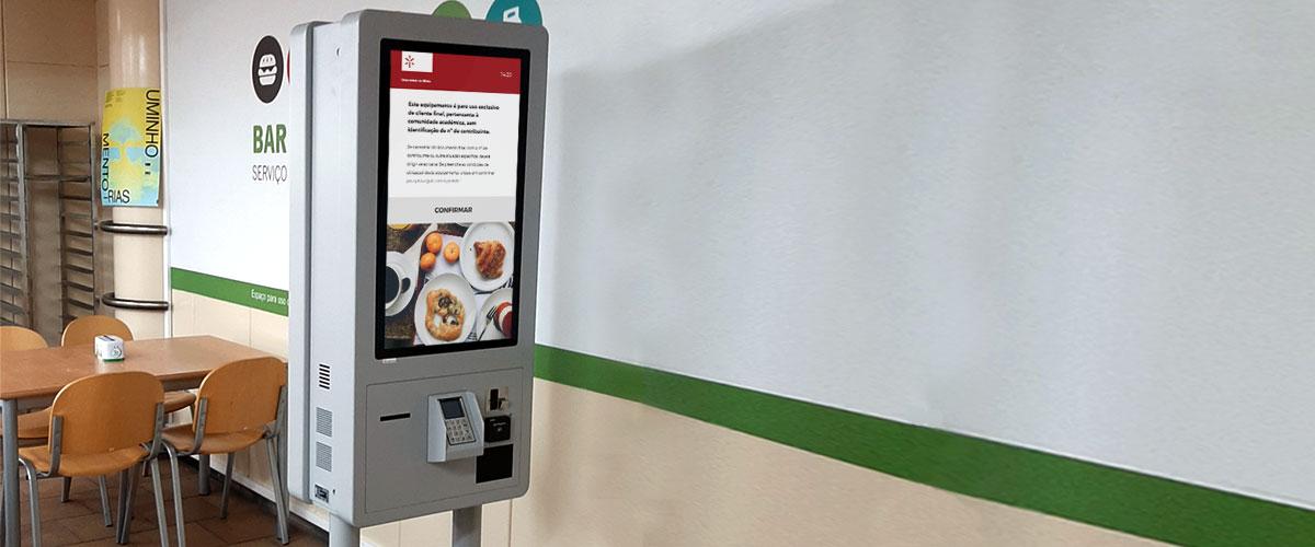 University of Minho: Self-Service catering Kiosks