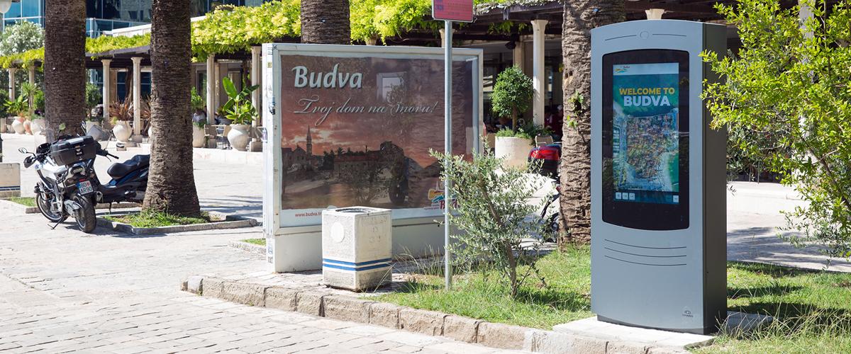 MUPIs digitais de informação turística para a Península de Tróia