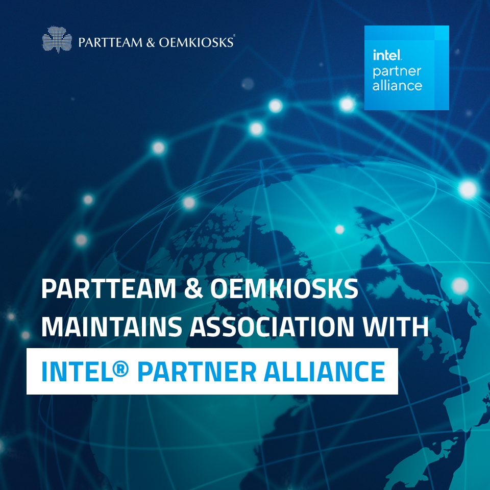 PARTTEAM & OEMKIOSKS maintains association with INTEL PARTNER ALLIANCE