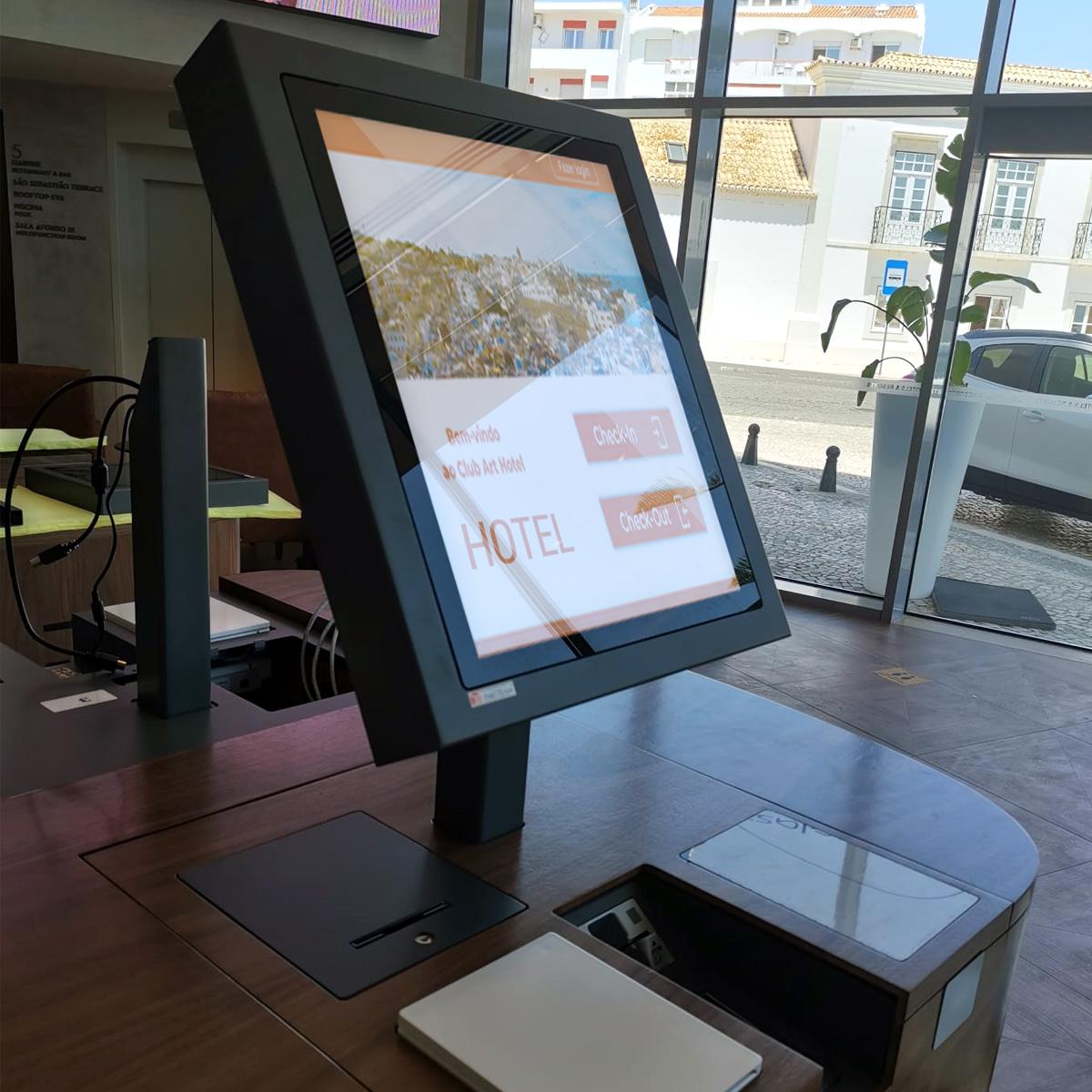 Self Check-In Kiosks for Eva Senses Hotel