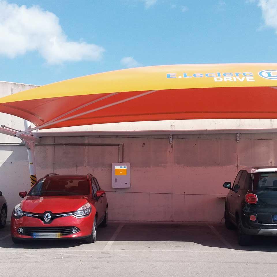 Drive Market: E.leclerc supermarket kiosk