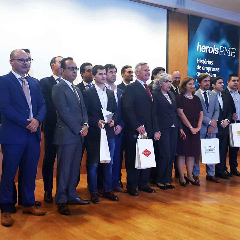 PARTTEAM Receives Heroes SME Award : SIC Notícias + Yunit Consulting