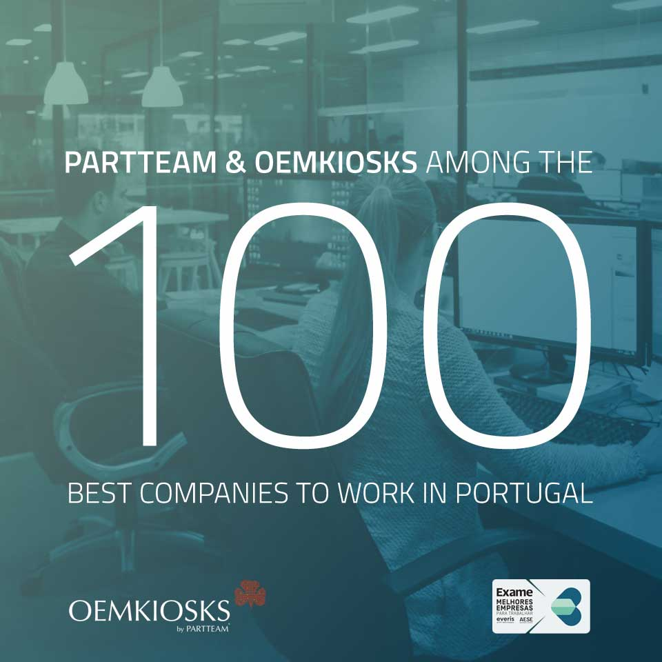 "PARTTEAM & OEMKIOSKS is candidate to ""Best Companies To Work"""