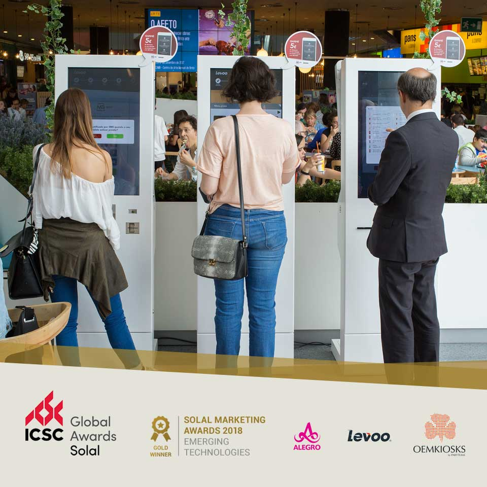 Project with PARTTEAM & OEMKIOSKS Self-Service Kiosks Wins Solal Marketing Awards 2018
