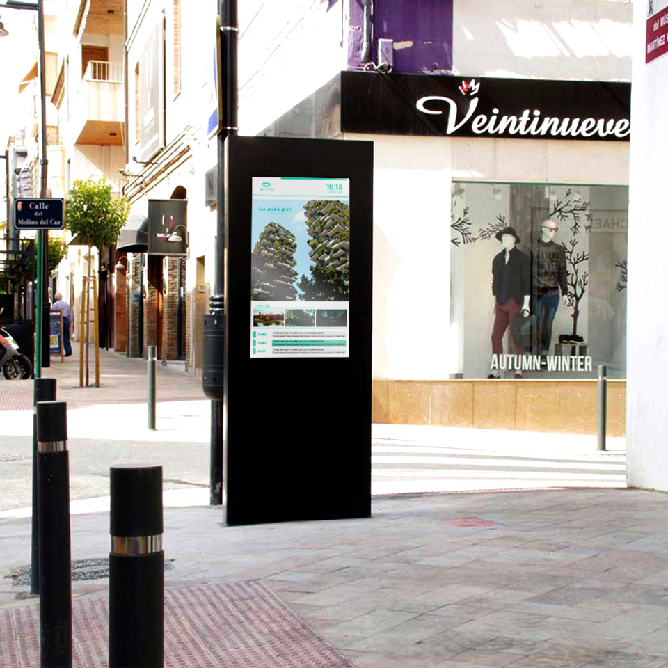 Digital Billboard for Municipality of Valencia