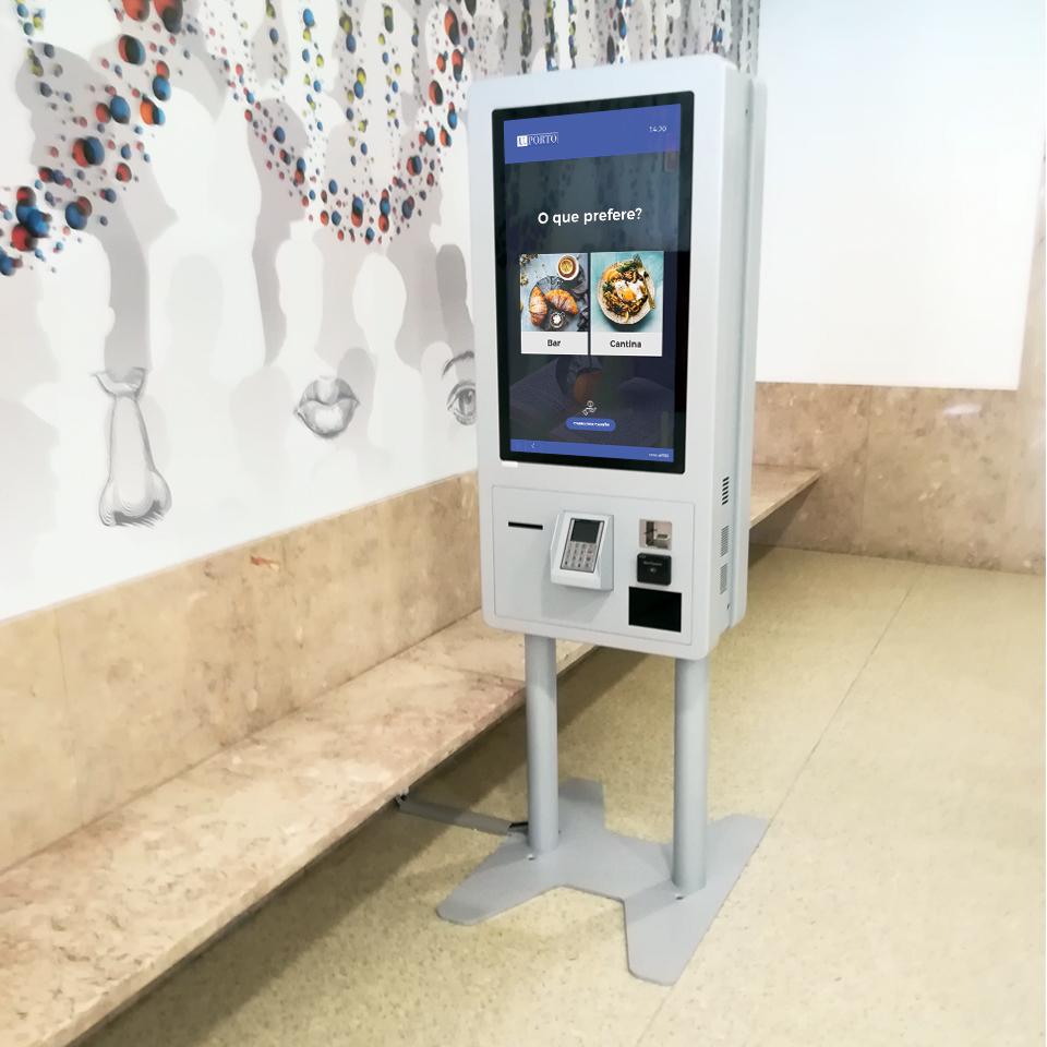 Self-Service Kiosks for University of Porto for the Social Services