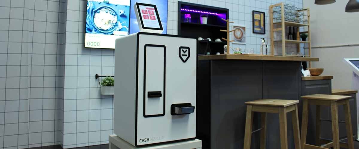 At the vanguard of automation, CASHARMOUR is an accurate investment