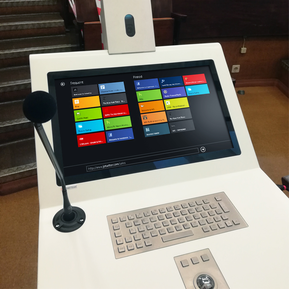 Social Services of the Faculty of Medicine of the University of Lisbon innovates auditoriums with digital pulpits