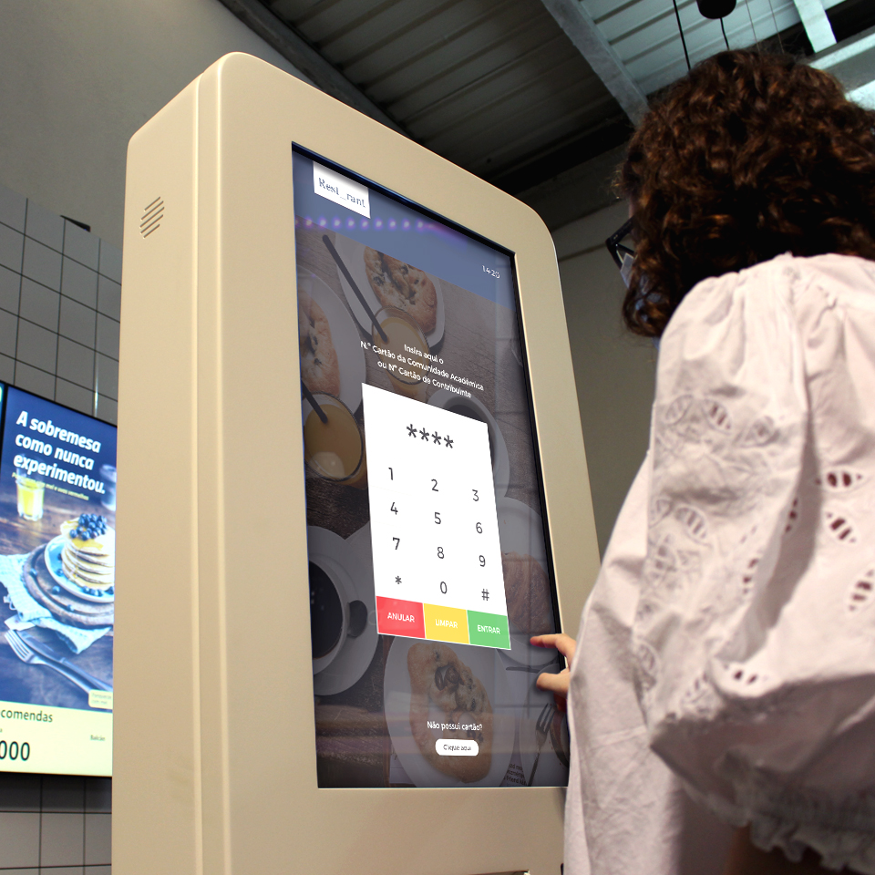 PARTTEAM & OEMKIOSKS self-service kiosks for restaurants (QSR)  are a continuous innovation