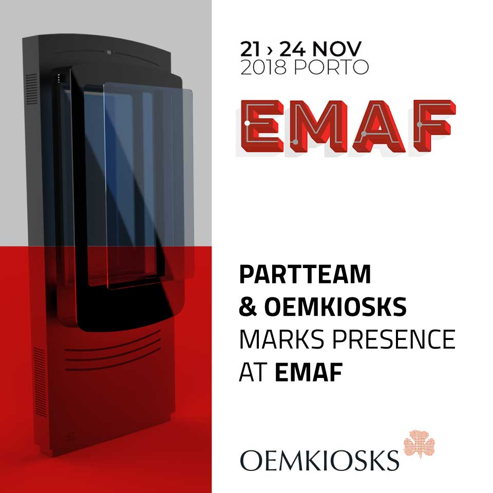 PARTTEAM & OEMKIOSKS will be present at the EMAF 2018