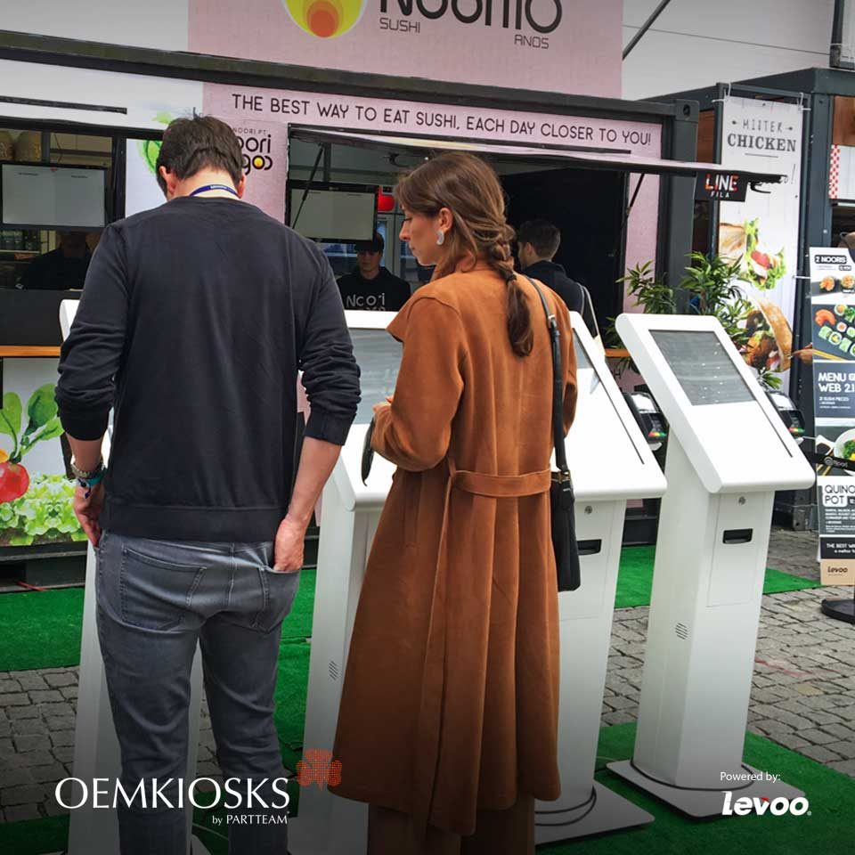 Self-service kiosks of PARTTEAM & OEMKIOSKS are on the WEB SUMMIT 2018