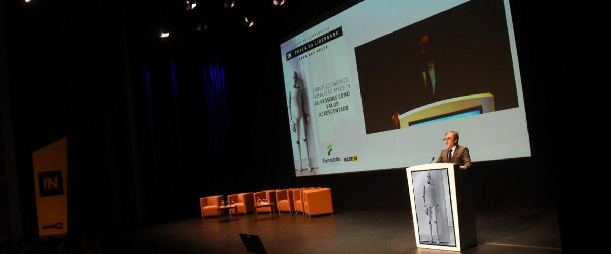 Economic Forum Famalicão Made IN with Digital Pulpit of PARTTEAM & OEMKIOSKS