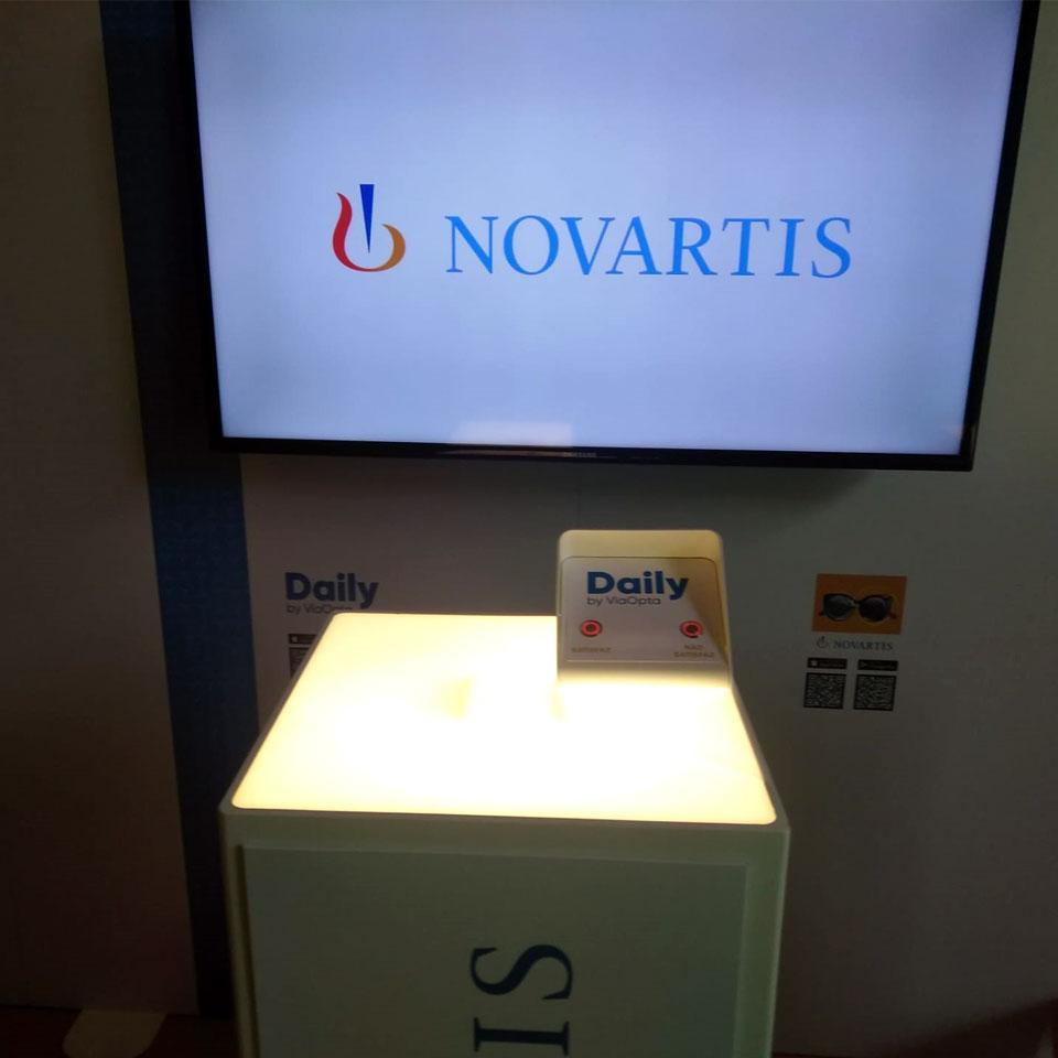 NOVARTIS with PARTTEAM & OEMKIOSKS Evaluation System
