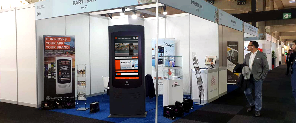 PARTTEAM & OEMKIOSKS at Smart City Expo World Congress