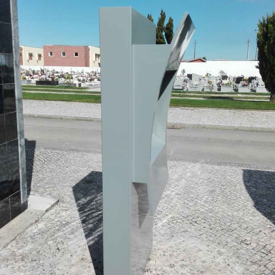 Digital kiosk for Espinho Municipal Cemetery